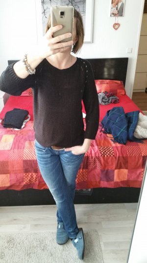 schöner grobstrick pullover S