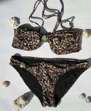 Schöner H&M Bikini im Leopardenlook