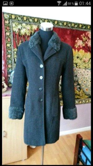 schöner halblanger winter mantel gr.34