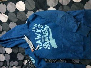 Schöner hell blauer Pullover von Superdry