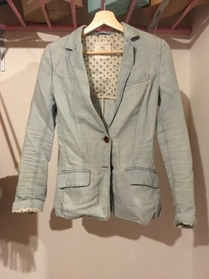 H&M L.O.G.G. Denim Blazer light blue-baby blue