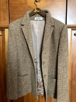 Blazer in lana marrone chiaro Lana
