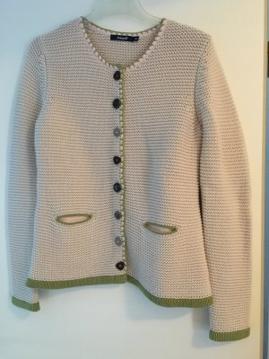 Coarse Knitted Jacket beige