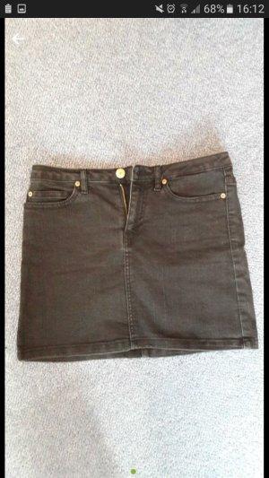 Schöner Jeans Minirock