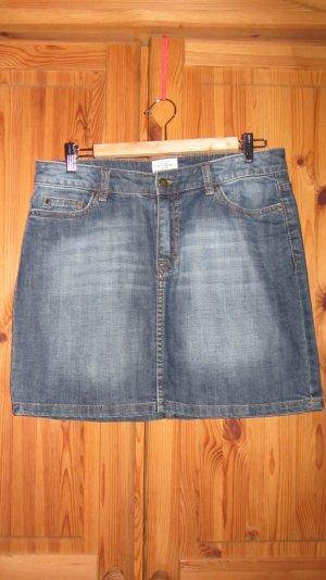 Schöner Jeansrock, knielang, blau – Gr. 40, H&M