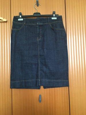 Hugo Boss Denim Skirt dark blue