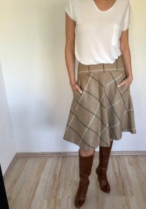 Schöner karierter Wollrock von Zara