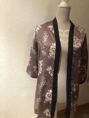 Luckystar Kimono blouse lila-bruin-paars