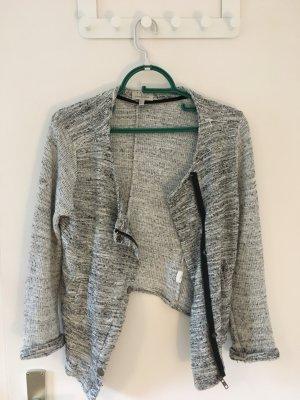 Zara Blazer in maglia nero-bianco