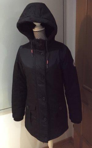 Bench Abrigo con capucha negro