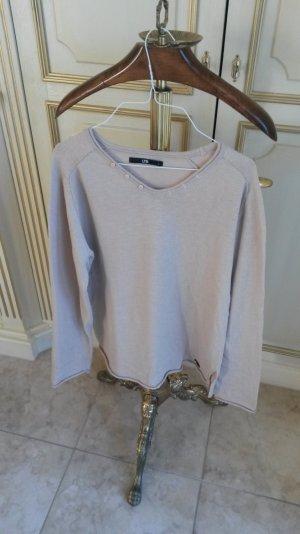 schöner leichte Pullover in nude wie neu!