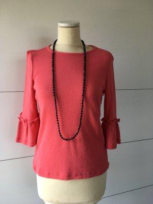 Esprit Sweater met korte mouwen zalm