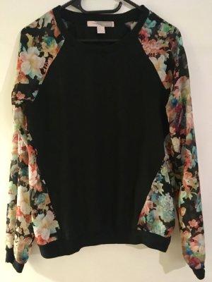 Schöner, leichter Pullover von Forever 21 Gr.S Blumen Muster!