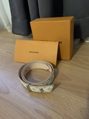 Louis Vuitton Canvas riem rosé-wit