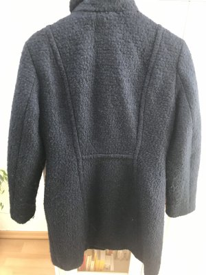 H&M Abrigo de lana azul oscuro