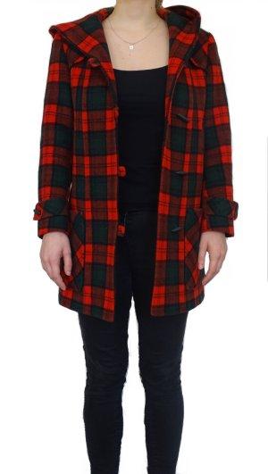 Hooded Coat black-red