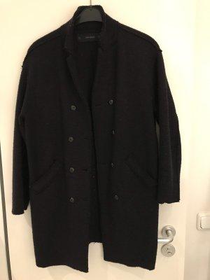 Schöner Mantel von ZARA, dunkelblau, Gr L