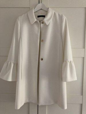 Hallhuber Short Coat white-natural white