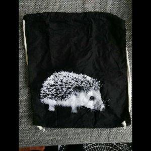 Backpack white-black
