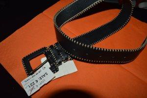 Schöner Neuer wunderkind Leder Gürtel schwarz