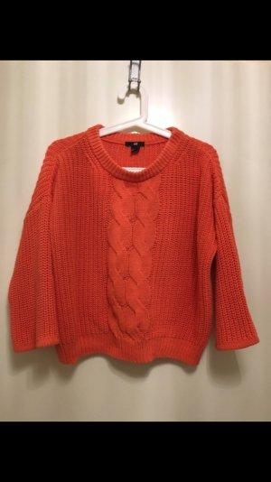 Schöner oranger Pullover aus H&M