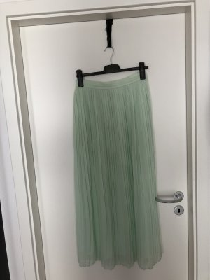 Mango Pleated Skirt mint