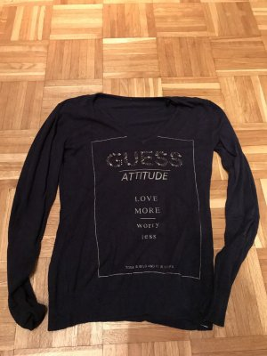 Guess V-Neck Sweater dark blue