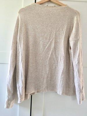 Zara Maglione crema-beige chiaro