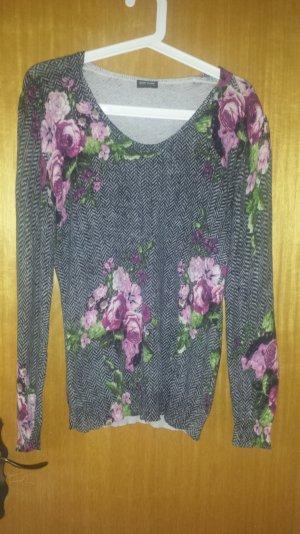 Schöner Pullover von Gerry Weber mit Blumenprint Gr. 38/40
