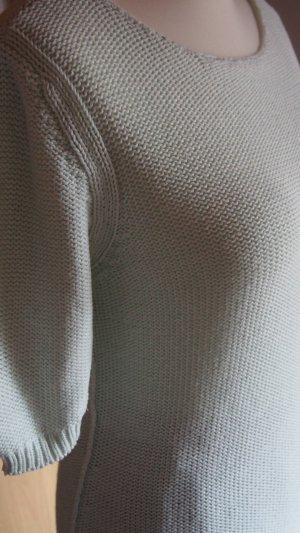 Essentials oui Jersey de manga corta verde pálido Algodón