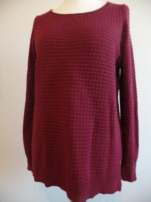 Schöner Pullover von s. Oliver, burgunder, Gr. L