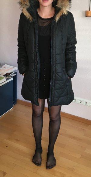 Refrigiwear Chaqueta de piel negro