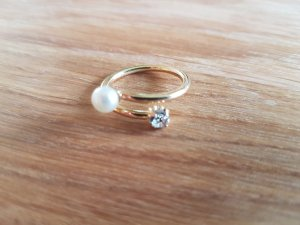 Accessorize Ring wit-goud