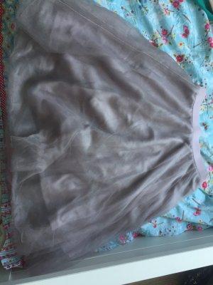 Charlotte Russe Falda de tul violeta grisáceo