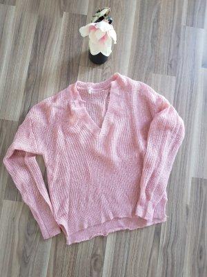 Schöner rosafarbener Pullover von H&M