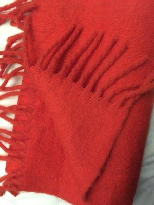 H&M Bufanda de lana rojo