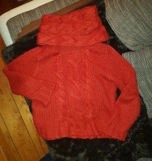 schöner roter Pullover von H&M Gr.M