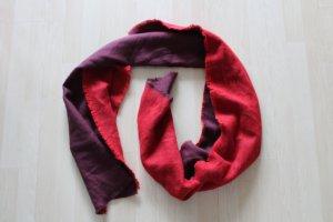 H&M Bufanda rojo-rojo zarzamora