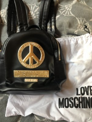 Love Moschino Mochila negro-color oro