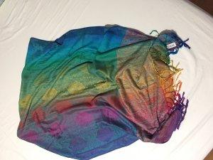 Pashmina multicolore