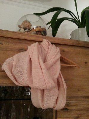 schöner schlauchschal nude-rosa