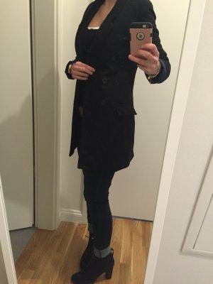 Schöner schwarzer Mantel gr 34