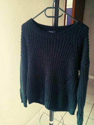 schöner, schwarzer Pullover Größe 36