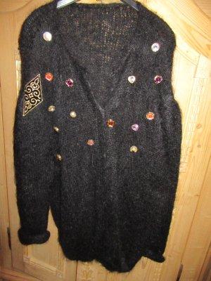 schöner schwarzer Pullover Vintage