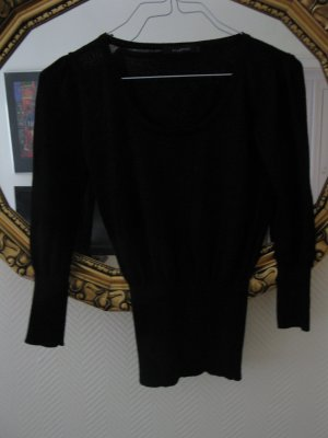 Reserved Knitted Top black