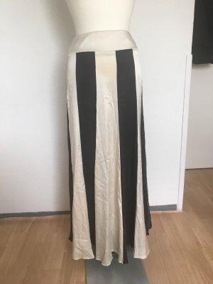TUANA Life Falda de talle alto negro-blanco
