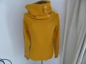schöner senffarbiger Pullover von ONLY Gr. M