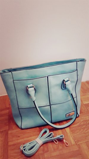 Shopper black-mint
