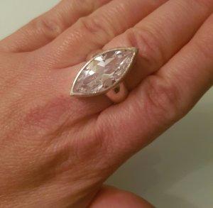 Schöner Silber 925 Ring mit Stein