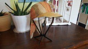 Cappello parasole crema-arancione chiaro
